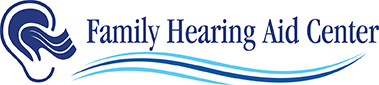 family hearing aid center footer logo
