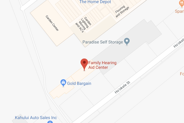 family hearing aid center in kahului hi